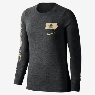Nike Women's Long-Sleeve T-Shirt College (Purdue)