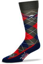 For Bare Feet Men's Washington Capitals Argyle Dress Socks