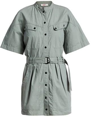 Etoile Isabel Marant Zolina Belted Utility Dress
