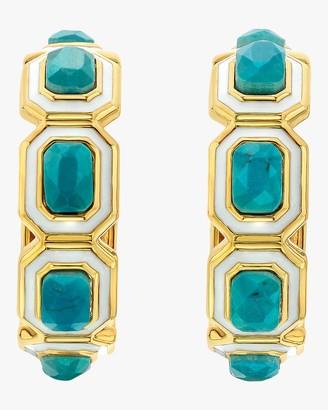 Isharya Chakra Hoop Earrings