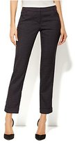 New York & Co. 7th Avenue Ankle Pant - Black Plum