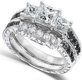 Ice 1 2/3 CT TW Diamond Polished 14K White Gold Bridal Set
