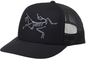 Arc'teryx Bird Trucker Hat (Black) Caps