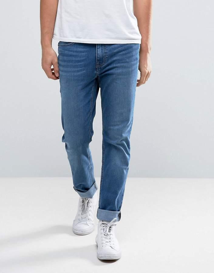 WÅVEN Slim Fit Jeans in Steel Blue