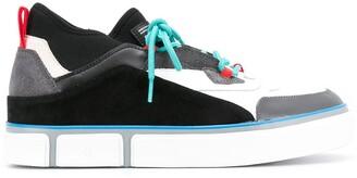Marcelo Burlon County of Milan Vulcanized panelled sneakers