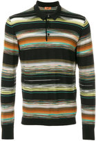 Missoni striped polo knit
