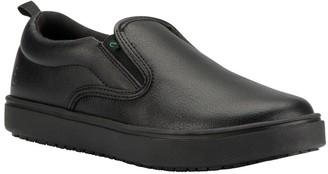 Emeril Lagasse Footwear Emeril Lagasse Womens Occupational Slip Ons - Royal Leather