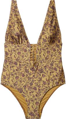 Zimmermann Button-detailed Swimsuit