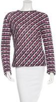 Missoni Striped Long Sleeve Top