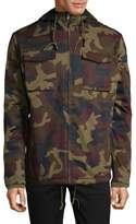 Wesc Camouflage Hooded Field Jacket