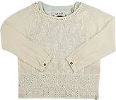 Scotch R'Belle EMBROIDERED & LAYERED WASHED COTTON TOP