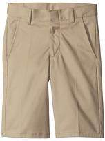 Nautica Flat Front Slim Twill Shorts (Big Kids)
