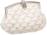 J. Furmani Women's H8262 Elegant Puffed Satin Clutch