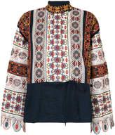 Tory Burch printed tunic top