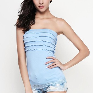 Pink Label Xenia Strapless Top