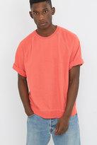 Urban Renewal Vintage Customised Mango Short Sleeve Bleached Sweatshirt