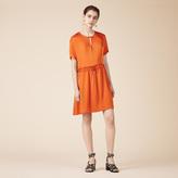 Maje Floaty short-sleeved dress