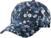 Joe Fresh Women's Floral Baseball Cap, Blue (Size O/S)