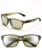 Maui Jim Men's 'Mixed Plate - Polarizedplus2' 58Mm Sunglasses - Chocolate Stripe/ Maui Rose