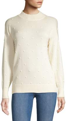 Style&Co. Style & Co. Petite Long-Sleeve Popcorn Sweater