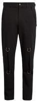 Damir Doma Ring-detail Denim Cargo Trousers