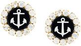 Dolce & Gabbana embellished anchor earrings
