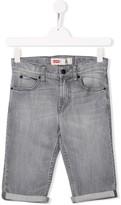 Levi's Kids skinny denim shorts