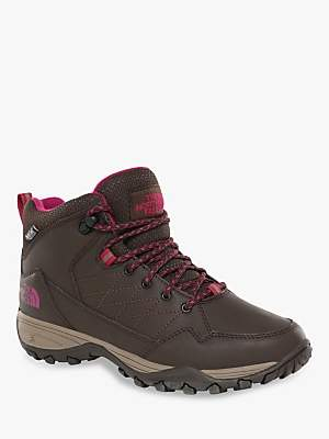 The North Face Storm Strike Women's Waterproof Walking Boots, Coffee Brown/Fossil