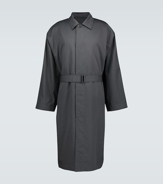 Lemaire Belted long overcoat