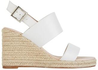 Jane Debster Dice White Glove Sandals