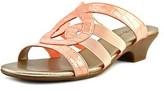 Karen Scott Emmee Open Toe Synthetic Slides Sandal.
