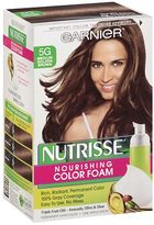 Garnier Nutrisse Nourishing Color Foam Permanent Haircolor Medium Golden Brown 5G