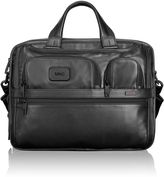 Tumi Expandable Organizer Laptop Leather Brief