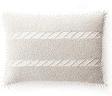 Ralph Lauren Jenna Beaded Linen Oblong Feather Pillow