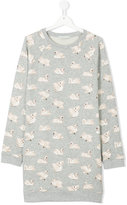 Stella McCartney teen Swan print dress - kids - Cotton - 14 yrs