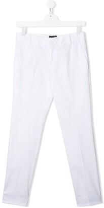 Emporio Armani Kids TEEN slim-fit trousers
