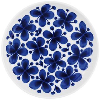 Iittala Mon Amie Dessert Plate - White/Blue