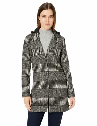 Yoki Women's Single Breast Long Wool Jacket