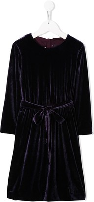 Caffe' D'orzo Mia velvet dress