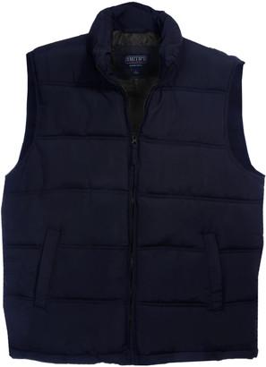 Smith's Workwear Men's Outerwear Vests NAVY - Navy Insulated Puffer Vest - Men