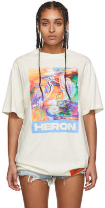 Heron Preston Off-White Heron Colors T-Shirt