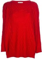 Tsumori Chisato cable-knit sweater
