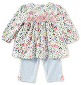 Little Me Baby Girls 3-12 Months Floral Long-Sleeve Top & Pants Set