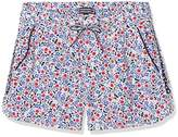 Tommy Hilfiger Girl's Flower Rayon Shorts,(Manufacturer Size: 14)