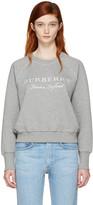 Burberry Grey Torto Logo Sweatshirt