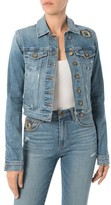 Sam Edelman Women's Bridget Embellished Denim Jacket