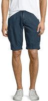 AG Jeans Bunker Sulfur Cargo Shorts, Sweater Blue
