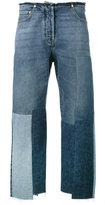 Valentino patchwork boyfriend jeans - women - Cotton/Polyester - 25