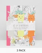 Paperchase Woodland Tails 3pk Exercise Books