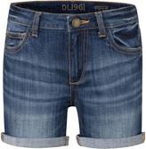 DL1961 Premium Denim Piper Cuffed Denim Shorts, Size 7-16